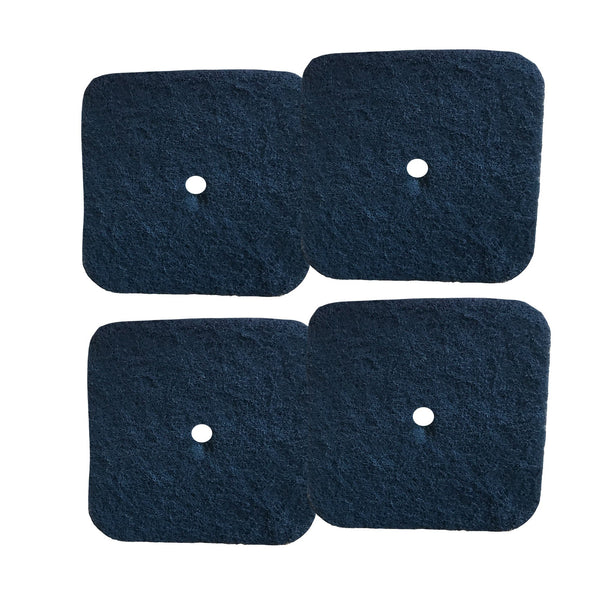 4pk Replacement Carbon Filters, Fits Catit Litter Pan, Compatible with Part 50685, 50700, 50701, 50702, 50722, 50695 & 50696