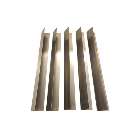 5pk Replacement Long Lasting Stainless Steel Flavorizer Bars, Fits Weber Grills, Compatible with Part 7537, 22.5 x 2.25 x 2.375