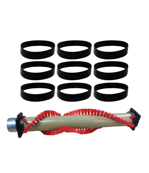 Repl Xl Oreck Roller Brush Amp 9 Belts 016 1152 75202 01