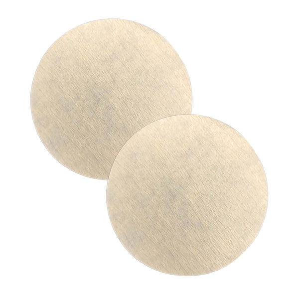 200PK Replacement Unbleached Paper Coffee Filter, Fits Aerobie AeroPress
