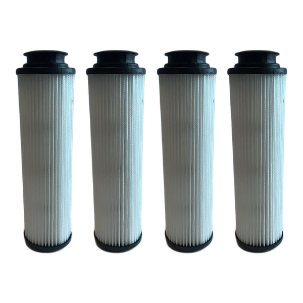 4pk Replacement HEPA Style Filters, Fits Hoover Windtunnel Bagless, Washable & Reusable, Compatible with Part 40140201 & 43611042