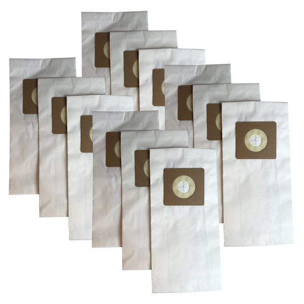 12pk Replacement Paper Vacuum Bags, Fit Bissell Style 1, 4 & 7, Compatible with Part 30861