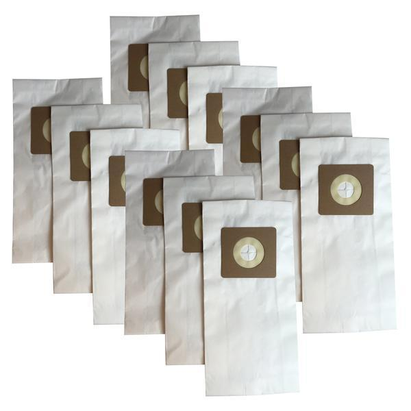 Crucial Vacuum Replacement Vac Bags - Compatible With Bissell Part # 30861 - Bissell Style 1, 4, & 7 Allergen Bags Designed To Fit Bissell Powerforce, PowerGlide, Plus, Power Trak Series