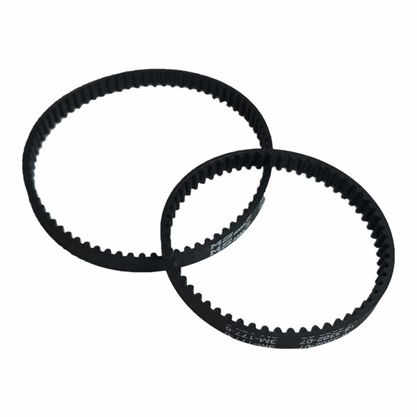 Think Crucial Replacement Belt Parts - Vacuum Belts Compatible with Bissell ProHeat 2X Models 9200 9300 9400 Series - Pair with Part 203-6688 and 203-6804 - Bulk Pack Sizes