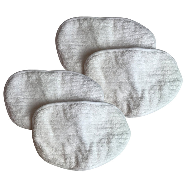 4pk Replacement Microfiber Steam Mop Pads, Fits Bissell Steam Mop, Compatible with Part 203-2158, 3255, 32525 & 42G3A