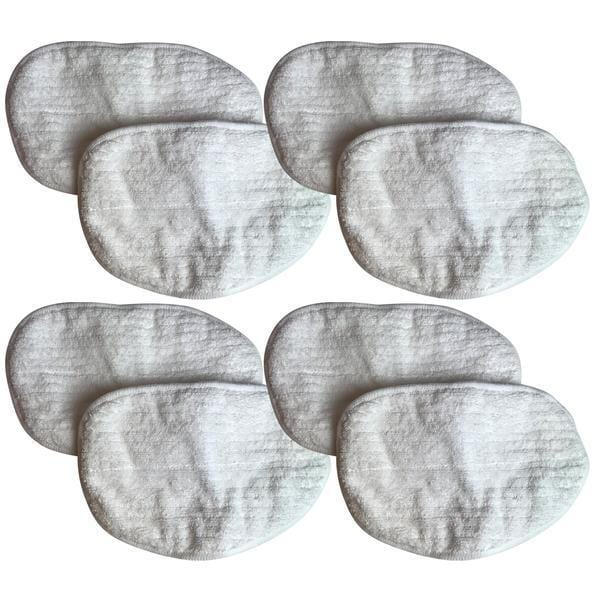 Crucial Vacuum Replacement Mop Pads Compatible with Bissell Replacement Microfiber Steam Mop Pad Parts - Hardwood Mop Head Part - Parts 203-2158, 2032158, 3255, 32525 Model 1867