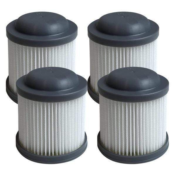 Think Crucial Replacement Vacuum Filters Compatible With Black & Decker Vacuums, Washable and Reusable Filter Part - Parts #VF100, VF100H - Fits Model PVF110, PHV1210, and PHV1810