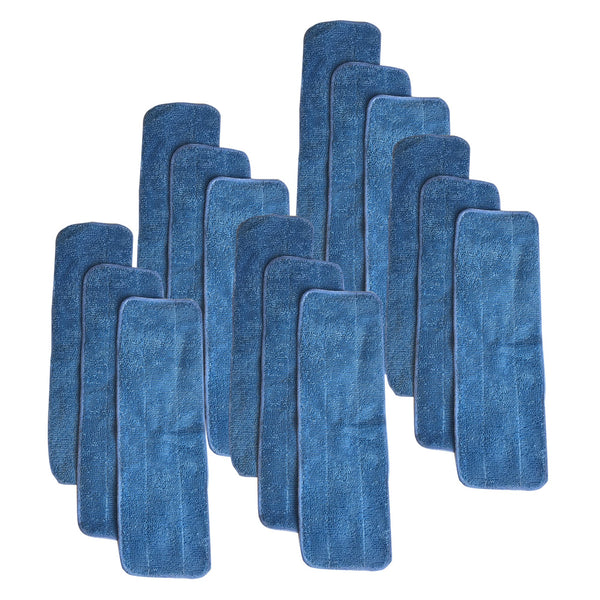 15pk Replacement Microfiber Mop Pads, Fits Bona Mops, Washable & Reusable, Compatible with Part AX0003053