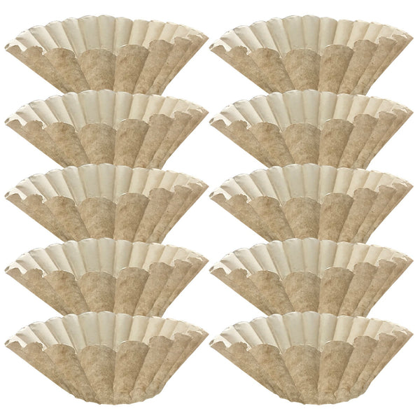 1000PK Compatible Replacement Unbleached Paper Coffee Filters Bunn 12 Cup Commercial Coffee Brewers, Compatible with M5002 & 20115.0000