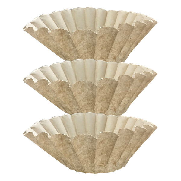 300PK Compatible Replacement Unbleached Paper Coffee Filters Bunn 12 Cup Commercial Coffee Brewers, Compatible with M5002 & 20115.0000