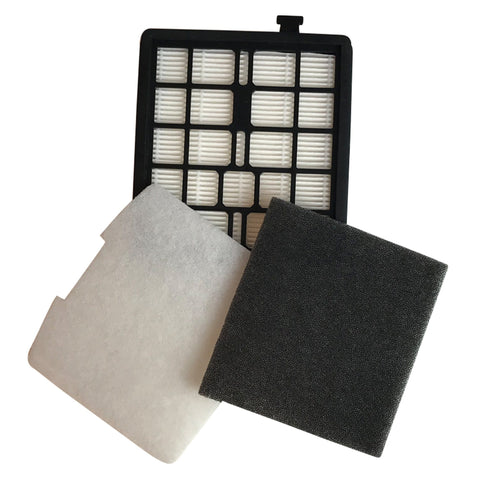 Replacement F45 Filter Kit, Fits Dirt Devil, Compatible with Part 2KQ0107000, 2KQ0104000 & 1KQ0106000