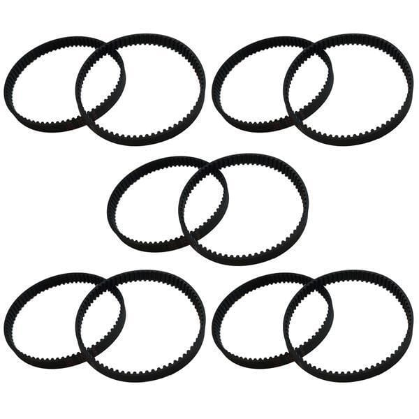Replacement 8MM Vacuum Belts, Fits Dyson DC17, Compatible with Part 911710-01
