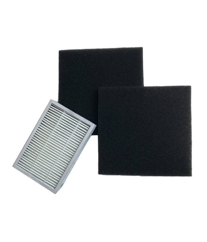 Replacement EF2 Filter & 2 CF1 Filters, Fits Kenmore, Compatible with Part 86880, 40320, MC-V194H & 86883