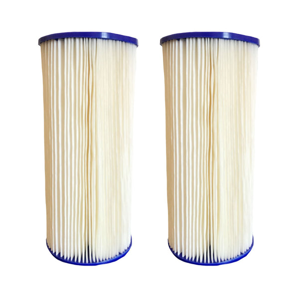 2pk Replacement Whole House Pre-Filtration Sediment Filters, Fits GE FXHSC, Culligan R50-BBSA, Pentek R50-BB & DuPont WFHDC3001