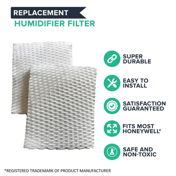 2pk Humidifier Filter B, Fits Honeywell HAC-700