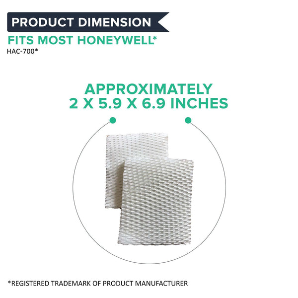 4pk Replacement Humidifier Filter B, Fits Honeywell HAC-700