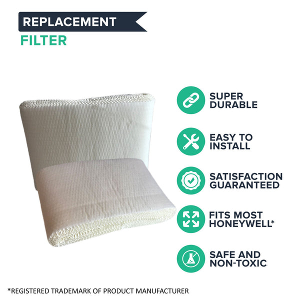 3pk Replacement Humidifier Filters, Fit Honeywell HCM3500, HM3600 & HCM-6000, Compatible with Part HC-14