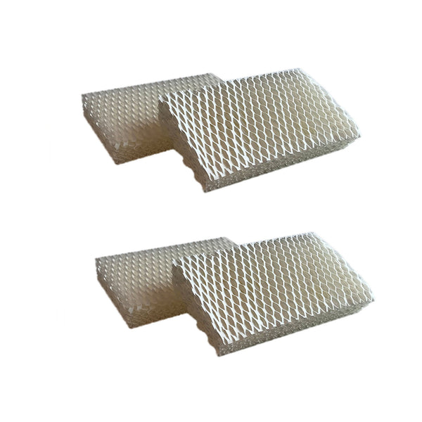 Crucial Air Filter Replacement Parts Compatible With Honeywell Part # AC-813, D13-C, D-13 - Fits Honeywell HCM-525 Humidifier Wick Filters - Simple Easy Use For Home Vacuum - (4 Pack)