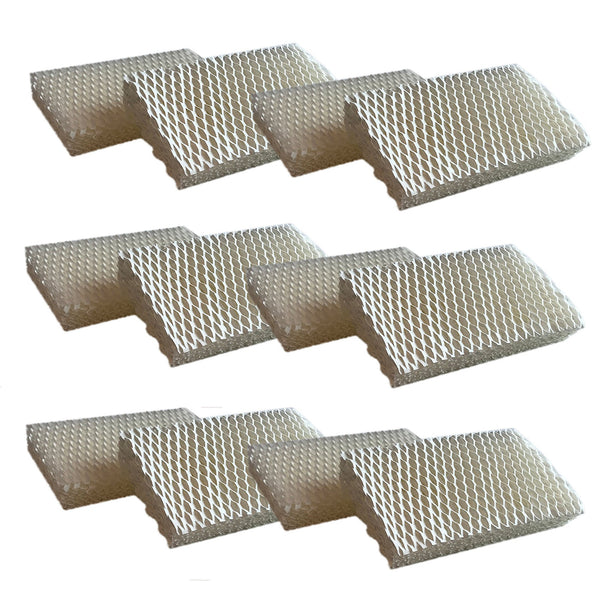 Crucial Air Filter Replacement Parts Compatible With Honeywell Part # AC-813, D13-C, D-13 - Fits Honeywell HCM-525 Humidifier Wick Filters - Simple Easy Use For Home Vacuum - (12 Pack)
