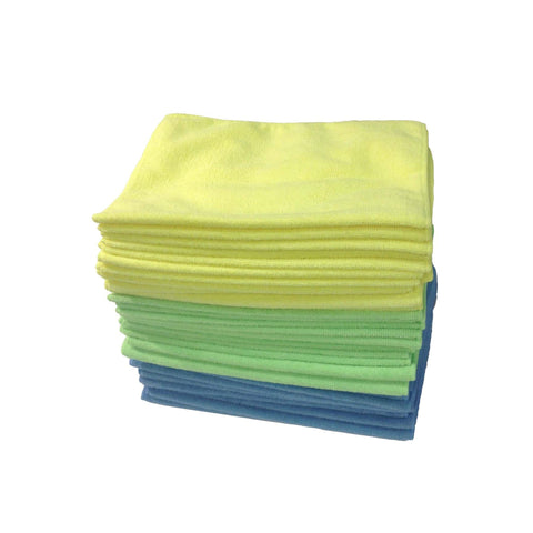 Multi-Surface Microfiber Towel Cleaning Cloths, 16x12