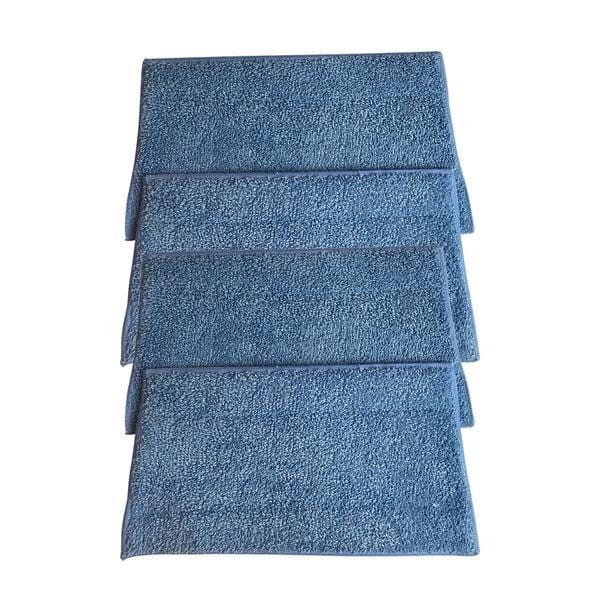 Crucial Vacuum Replacement Mop Pads Part # RMF2, RMF2P, RMF2X, RMF4X, RMF4, RMF-4 - Compatible with Haan - Fit BS10, BS20, HD50, MS30, MS30R, MS35, SI25, SI35, SI35G, SI35R, SI35BCRF