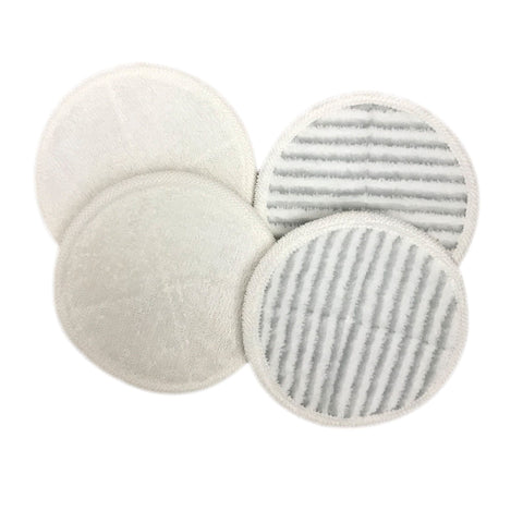 Think Crucial Replacement Mop Pads - Compatible with Bissell Spinwave Mop Pad Heads Parts - Perfect For Models 13122, 13129, 13151, 13139 - Home, Office Use - Pair with Part #2124