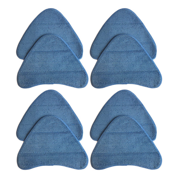 8pk Replacement WH20200 Steam Mop Pads, Fits Hoover, Washable & Reusable, Compatible with Part WH01000