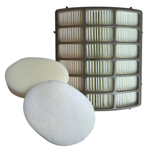 Replacement HEPA Style Filter, Foam & Felt Filter Kit, Fits Shark NV80 UV420, Compatible with Part XHF80 & XFF80