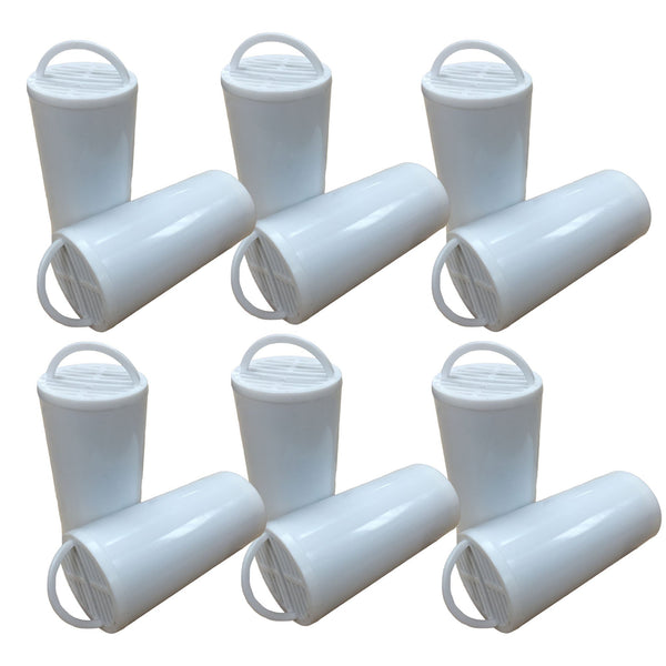 12pk Replacement Charcoal Filters, Fits Drinkwell Stainless Multi-Pet & 360 Pet Fountains