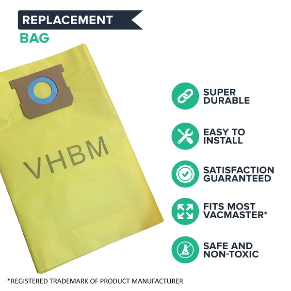 3PK Replacements for Vacmaster 8-10 Gallon Vacuums Fit VHBM
