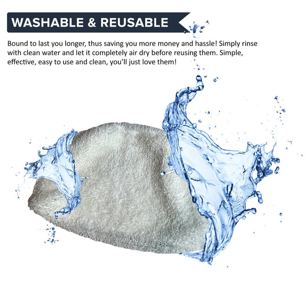 2pk Replacement Steam Mop Pads, Fits Bissell PowerFresh, Compatible with Part 5938 & 203-2633