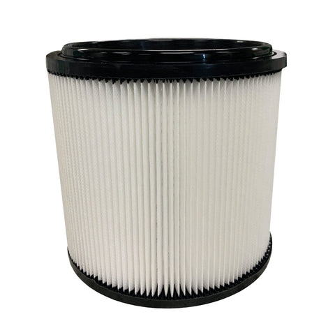 Wet / Dry Vacuum Filter Fits Vacmaster VCFH, Fits 5 - 20 Gallon Wet/Dry Vacs, Retainer Lid Not Included