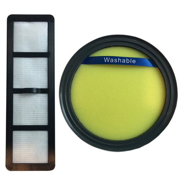 Replacement Filter & EF6 Filter, Fits Eureka DCF25, Compatible with Part 67600, 82982-2 & 83091-1
