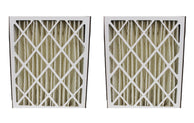 2 Goodman 20x25x5 MERV-8 Pleated HVAC Furnace Filters