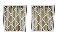 2pk Replacement 20x25x5 MERV-8 Pleated HVAC Furnace Filters, Fits Skuttle, Compatible with Part 000-0448-003