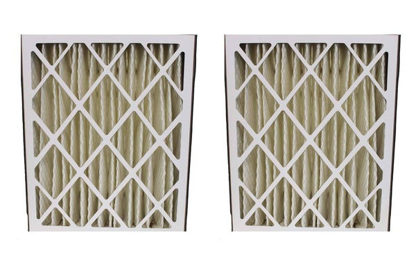 2 Skuttle 20x25x5 MERV-8 Pleated HVAC Furnace Filters | Part # 000-0448-003