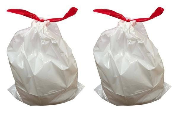 Replacement Durable Garbage Bags, Fits Simplehuman® 'size ''B''', 6L / 1.6 Gallon