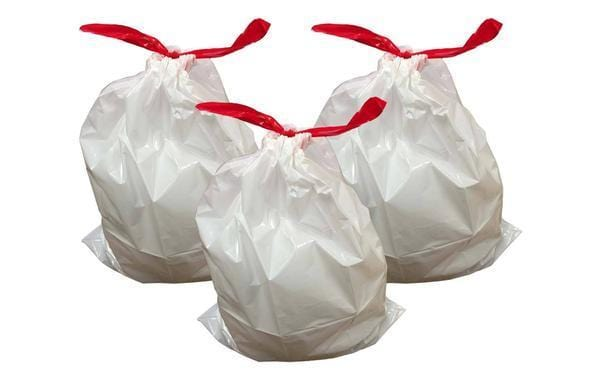Think Crucial 30PK Durable Garbage Bags Fit Simplehuman/® Size C 2.6-3.2 Gallon 10-12L