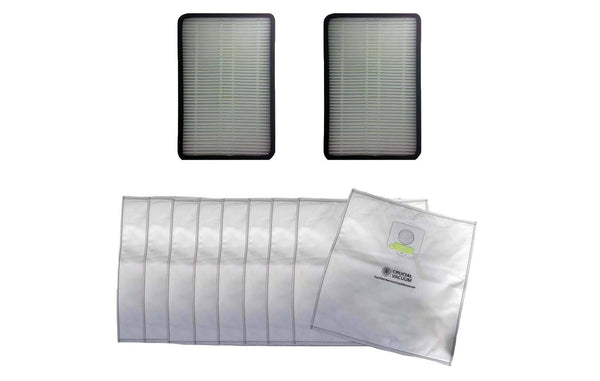 2 Kenmore EF1 Filters & 9 5055 Cloth Bags | Part # 86889, 20-5055, 20-50557 & 20-50558