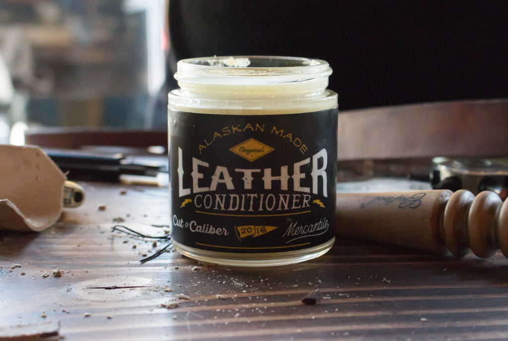 Cut & Caliber X The Mercantile || Leather Conditioner