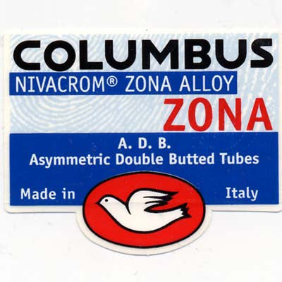 Columbus ZONA Chain Stay/Kettenstreber 22mm Round