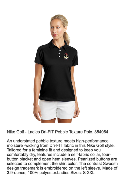 Pinckney Pirates Nike Golf Ladies Dri-FIT Polo