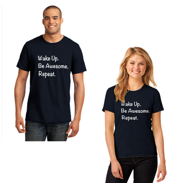 Ann Arbor Kiwanis Be Awesome Anvil 100% Cotton Tee L880/M980