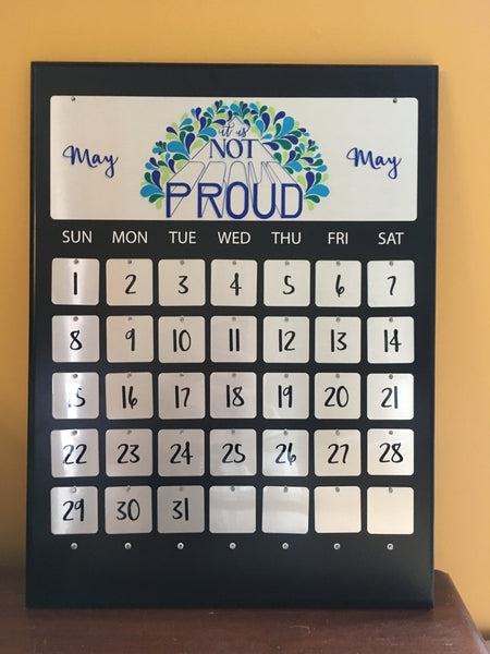 Personalized Perpetual Celebration Calendar