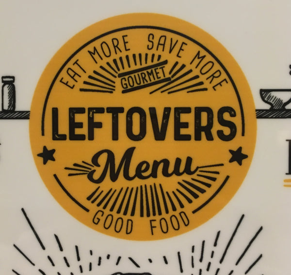 Leftovers Menu Personalized Dry Erase Board