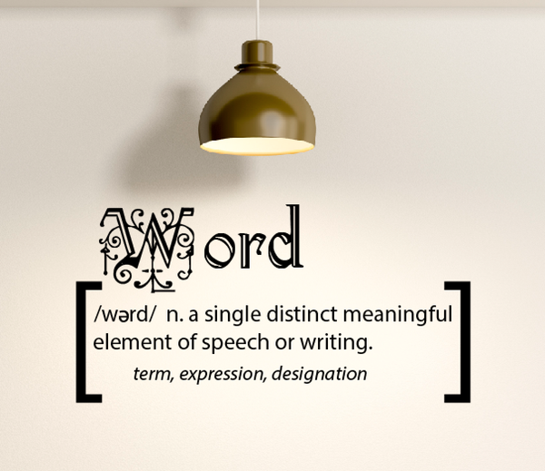 Defining Words™ Wall Art