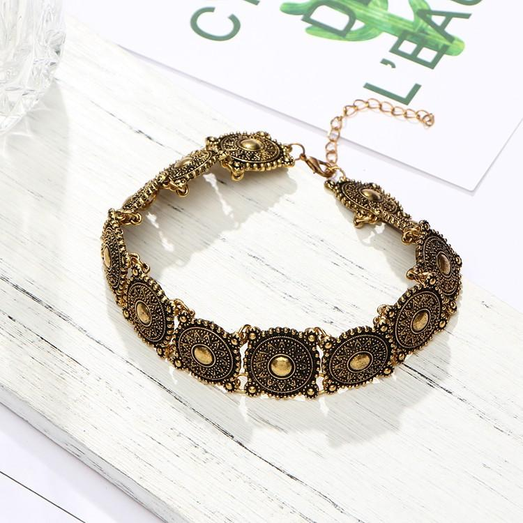 Steampunk Boho Choker Necklace