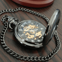 The Mechanic™ Steampunk Pocket Watch