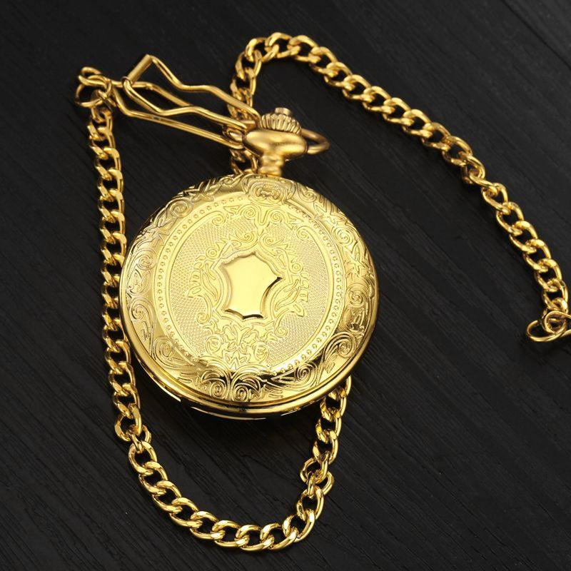 """The Gold Miner"" Pocket Watch"