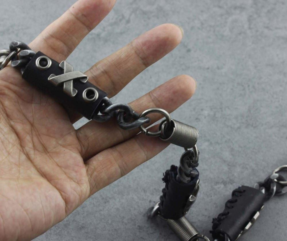 Trucker's Steel Pants Keychain
